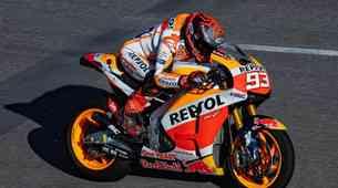 Marquez v Katarju vendarle zgolj med gledalci