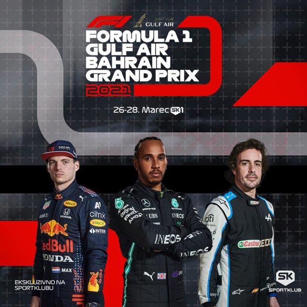 Začenja se Formula 1 - ekskluzivno na Sportklubu! (foto: Promocijsko gradivo)