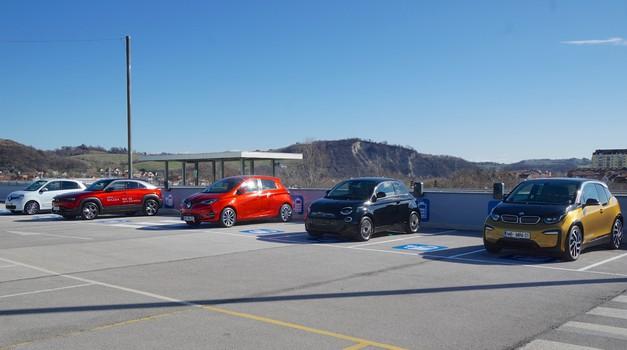 Europark z največ električnimi polnilnicami na enem mestu postaja središče trajnostne mobilnosti v Mariboru (foto: Promocijsko gradivo)