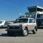Na napeti dražbi skoraj početverili ceno Lade Nive, zanimanje tudi iz tujine! (foto: Aerodrom Portorož)