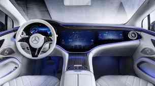 Pred premiero: Mercedes-Benz EQSS - ko armaturno ploščo zamenjajo zaslon(i)