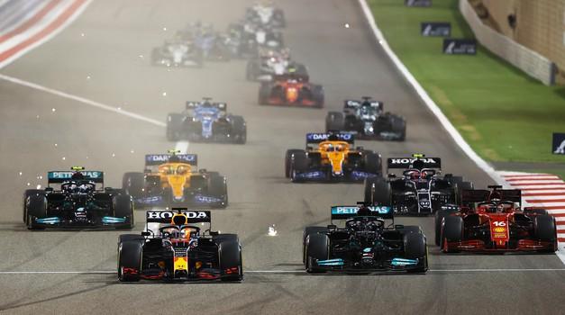 Formula 1, VN Barajna: Verstappen zamudil lepo priložnost (foto: Moštva)
