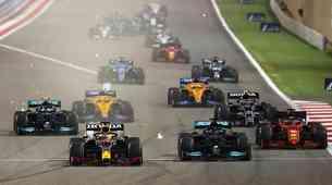 Formula 1, VN Bahrajna: Verstappen zamudil lepo priložnost