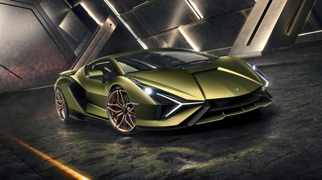 Tudi Lamborghinije bo gnala elektrika (foto: Lamborghini)