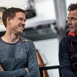 Oba največja zvezdnika relija (Odier in Loeb, desno), ki si skupno lastita kar 16 naslovov, sta izšla iz francoske verzije izbora Rallye Jeunes. (foto: Romina Amato)