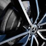 Kolesa z 22-palčnimi pnevmatikami so del stilskega paketa AMG. (foto: Uroš Modlic)