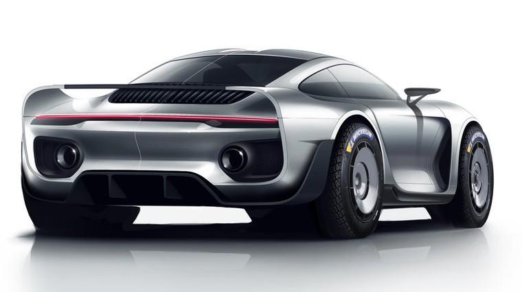 Gemballova reinkarnacija Porscheja 959 že premaguje sipine (video) (foto: Marc Phillipp Gemballa)
