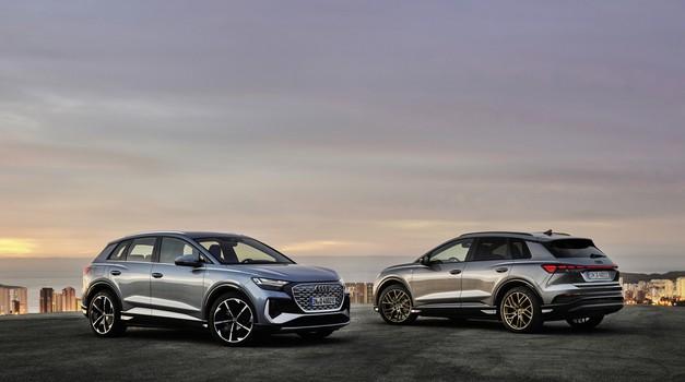 Premiera: Audi Q4 e-tron - na elektriko tudi v kompaktnem razredu (foto: Audi)