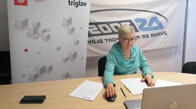 Darja Kraševec, predsednica sveta funkcionarjev pri AŠ2005 (foto: Aš2005)