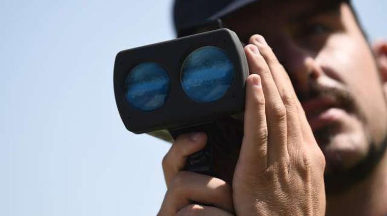Maraton nadzora hitrosti: meritve na skoraj 600 lokacijah; tu je seznam (foto: STA)