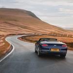 Najmočnejši Bentley Continental sedaj omogoča zabavo tudi z vetrom v laseh (foto: Bentley)