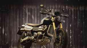 Triumph Scrambler Steeve McQueen Edition