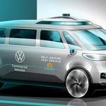 Volkswagen je s konceptom I.D. Buzz pokazal, kako si predstavlja avtonomno mobilnost. (foto: Volkswagen)