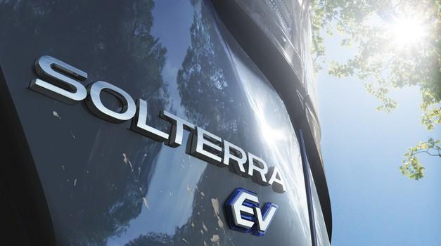 Električni projekt Subaruja in Toyote dobiva podobo: Solterra prihaja prihodnje leto (foto: Subaru)
