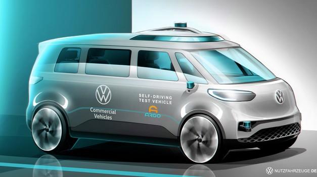 Kateri VW bo vozil (skoraj) povsem samodejno? (foto: VW)