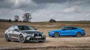 Novo v Sloveniji: Zvezdni par družine M - BMW M3 in M4 Competition