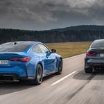 Novo v Sloveniji: Zvezdni par družine M - BMW M3 in M4 Competition (foto: BMW)