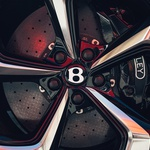 Najbolj športna Bentayga nima 12-valjnika. Ima pa oznako S (foto: Bentley)