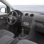 Armaturna plošča modelov, izdelanih do leta 2015 (Caddy3). (foto: Volkswagen)