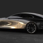 Mazda je pred časom predstavila koncept limuzine srednjega razreda, ki naj bi jo poganjal šestvaljni motor z valji v vrsti. (foto: Mazda)