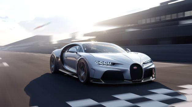 Premiera: Bugattijev hitrostni rekorder tokrat s pridihom prestiža (foto: Bugatti)