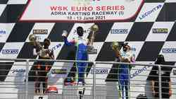2021 WSK EUROSERIES, ADRIA (ITA): Vrhunski rezultat Marka Kastelica!