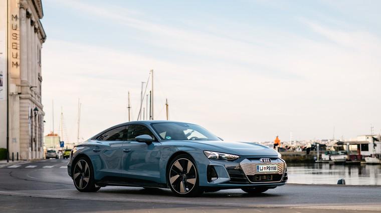 Novo v Sloveniji: Audi e-tron GT quattro in RS e-tron GT - elektrika ni (več) rezervirana za SUV-e (foto: Audi)