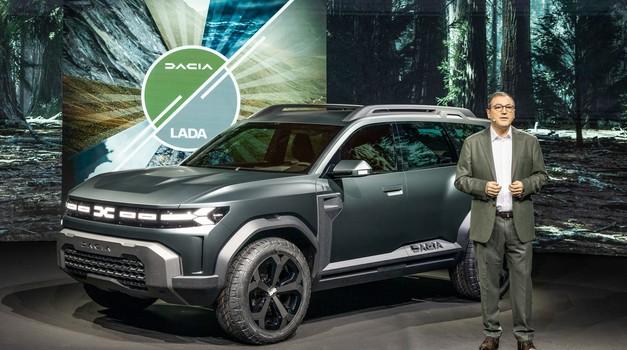Dacia predstavlja velik korak na poti v zeleno prihodnost (foto: dacia)