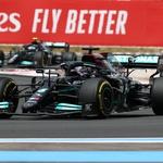 Formula 1, VN Francije: Mercedes ostal z dolgim nosom, Verstappen odločno premočan (foto: Mercedes)