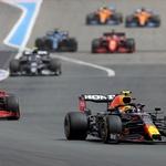 Formula 1, VN Francije: Mercedes ostal z dolgim nosom, Verstappen odločno premočan (foto: Red Bull)
