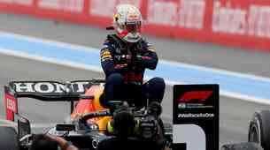 Formula 1, VN Francije: Mercedes ostal z dolgim nosom, Verstappen odločno premočan