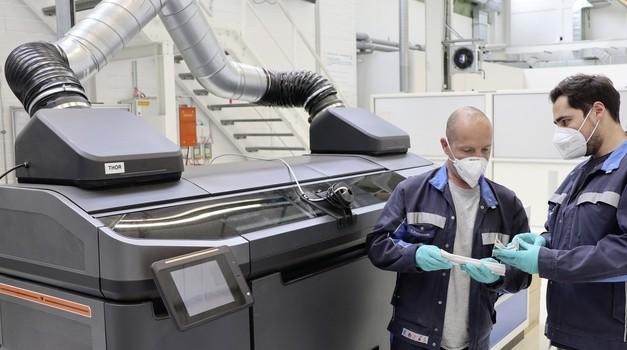To je nova tehnologija, ki utegne spremeniti način proizvodnje avtomobilov (foto: Volkswagen)