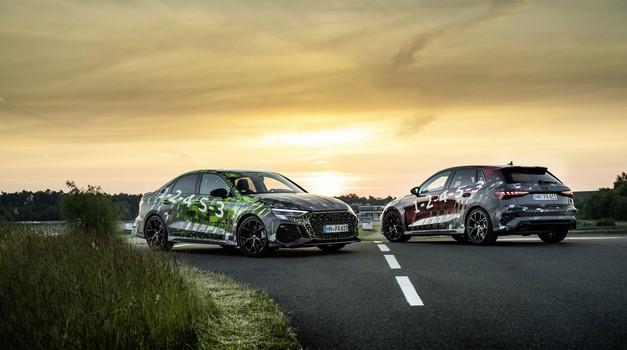 Napoved: Audi RS3 - ne le močnejši, po zaslugi novosti  na podvozju bo tudi precej hitrejši in bolj zabaven (video) (foto: Audi)