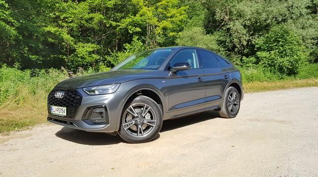 Novo v Sloveniji: Audi Q5 Sportback – kupejevska oblika skoraj brez kompromisov (foto: Jaka Drozg)