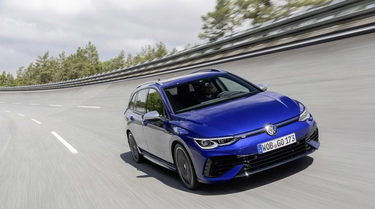 Premiera: Golf R Variant – za driftanje, vleko prikolice, družinska potovanja in vse ostalo! (foto: Volkswagen)
