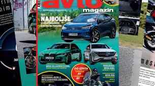 Izšel je novi Avto magazin: Kako na dopust s prikolico... ali motorjem; slovenski infozabavni sistemi; test: Bmw M3...
