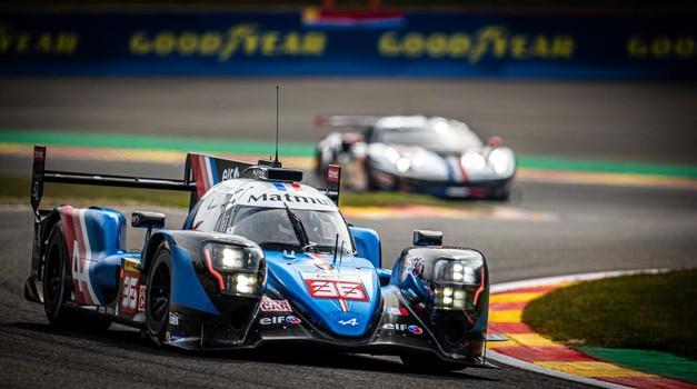 Moštvo Alpine letos dobro konkurira Toyoti, kljub temu, da njihov dirkalnik nima hibridnega pogona. (foto: Dppi)