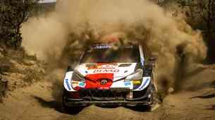 WRC Safari Reli Kenija za SP - Štiri v vrsto (skoraj)