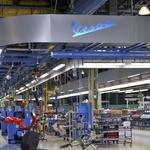 Več kot 19 milijonov Vesp je dovolj, da je Vespa visoko na seznamu najbolj množično proizvedenih vozil. (foto: Piaggio)