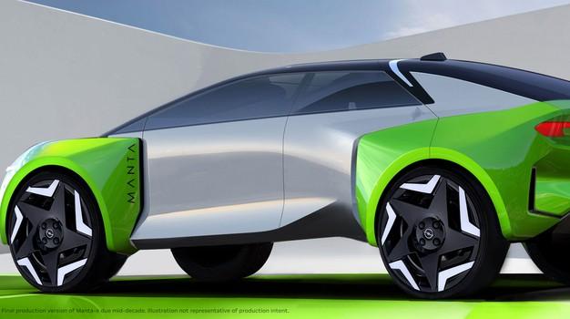 Opel oživlja tudi Manto, a na nekoliko drugačen način (foto: Opel)