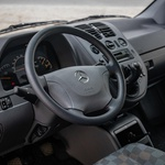 Notranjost: Vito in Viano prve generacije (foto: Mercedes-Benz Ag – Global Communications Mercedes-Benz Cars Brainstormunich Media)