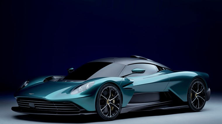 Premiera: Aston Martin Valhalla – cestni dirkalnik napoveduje rekord na Nürburgringu (foto: Aston Martin)