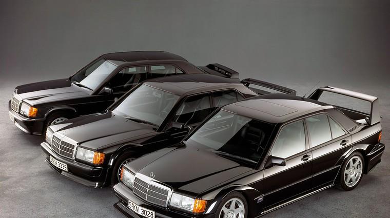 10 v vrsto: Športne limuzine zlate dobe - pionirji samosvojega segmenta (foto: Mercedes-Benz)