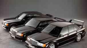 10 v vrsto: Športne limuzine zlate dobe - pionirji samosvojega segmenta