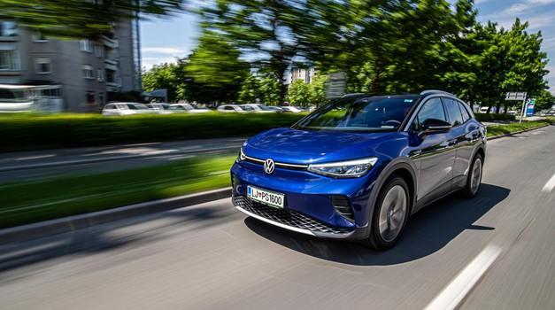 Volkswagen ID.4 - Presenečenje? Skoraj … (foto: Uroš Modlic)