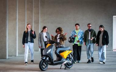 Piaggio ONE - nova generacija električnih skuterjev za globalno tržišče