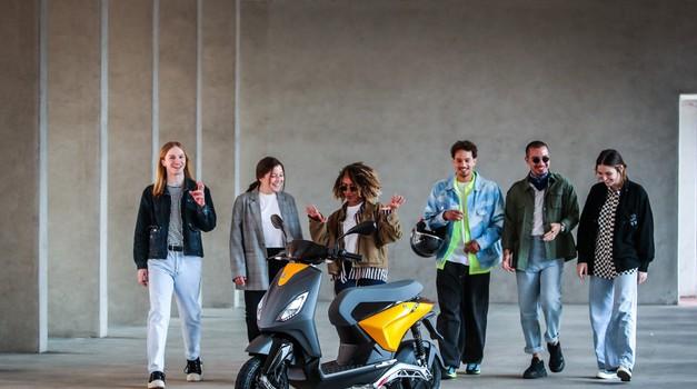 Piaggio ONE - nova generacija električnih skuterjev za globalno tržišče (foto: piaggio)