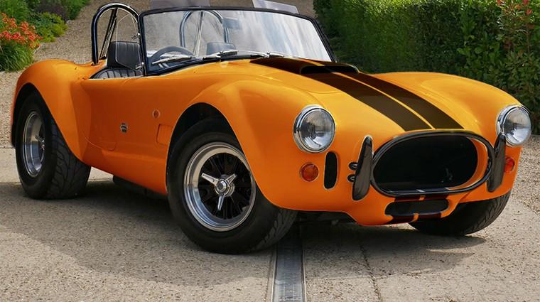 'Nova' AC Cobra kljubuje vsem načelom ameriških mišičnjakov (foto: AC Cars)