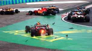 Formula 1, VN Madžarske - V orgiji trčenj Mercedes in Aston Martin premagala sama sebe