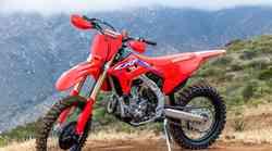 Honda: družina CRF osvežena za sezono 2022